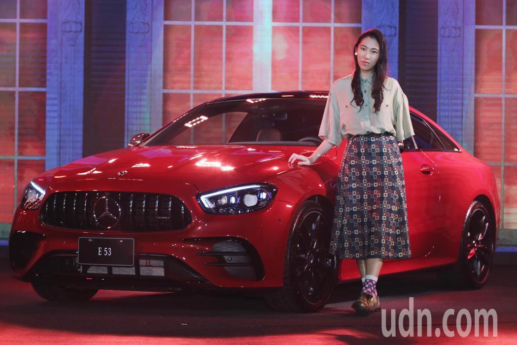 Mercedes-Benz舉辦THE NEW E-CLASS發表會,邀請王若琳擔...