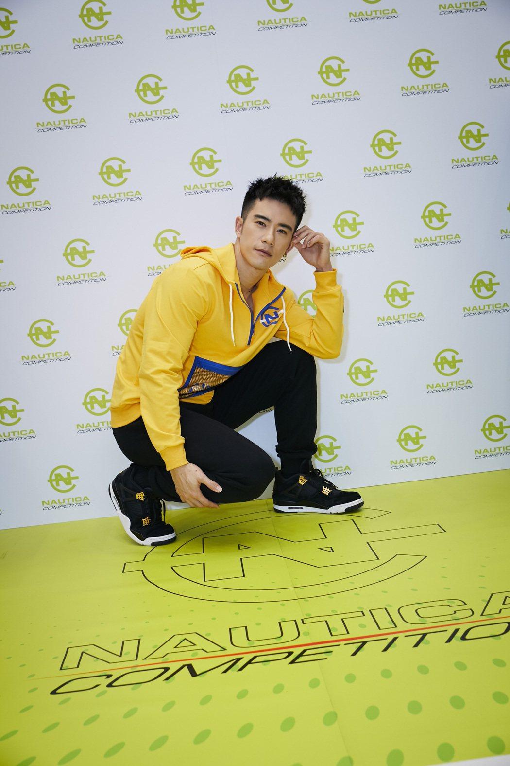JR出席服飾品牌代言活動。圖/天晴娛樂提供
