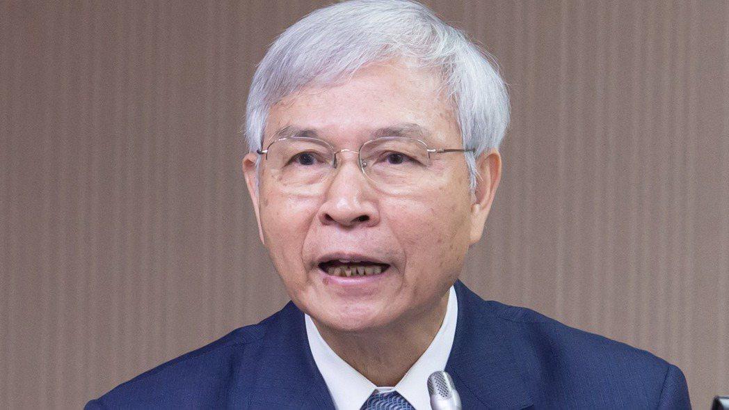 中央銀行總裁楊金龍。 記者季相儒╱攝影