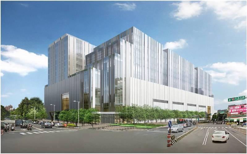 國泰人壽耗資48億將在土城工業區打造一棟地上10層及地下1層的廠辦大樓。圖/新北市經發局提供