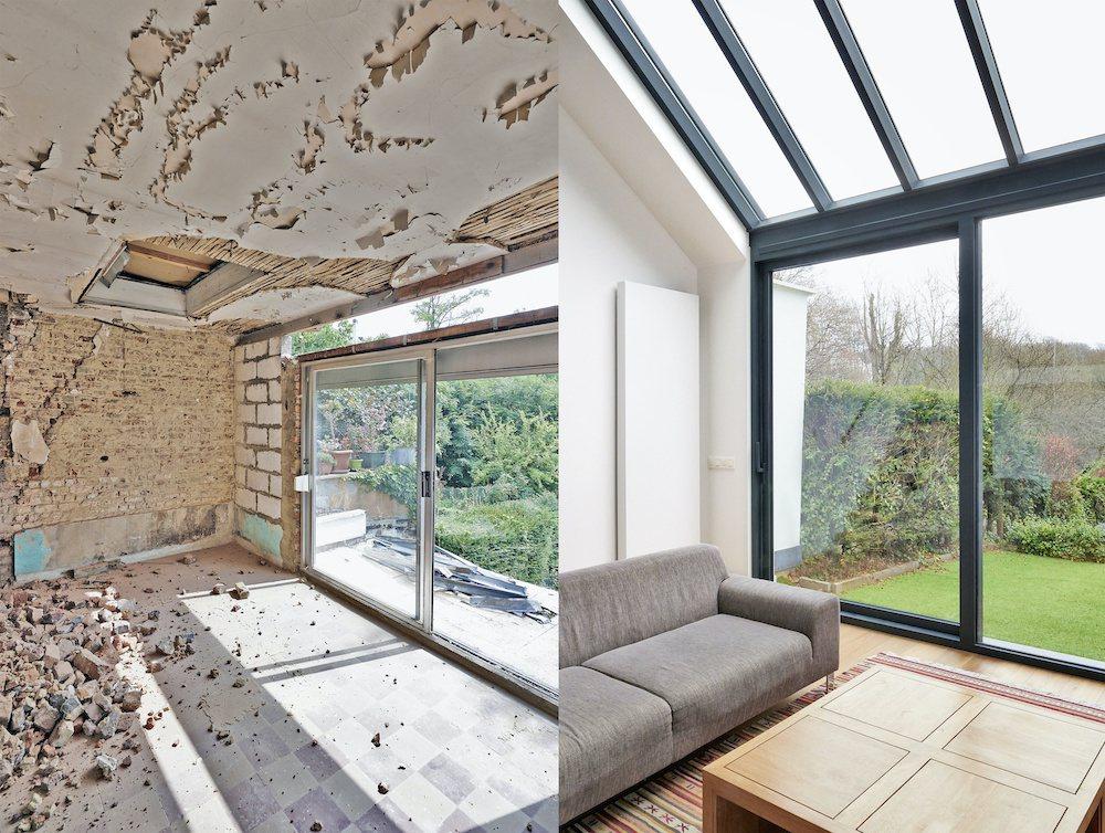 近年正流行購買地段良好的老屋,重新整修裝潢,但須留意結構安全問題。 圖/21世紀...