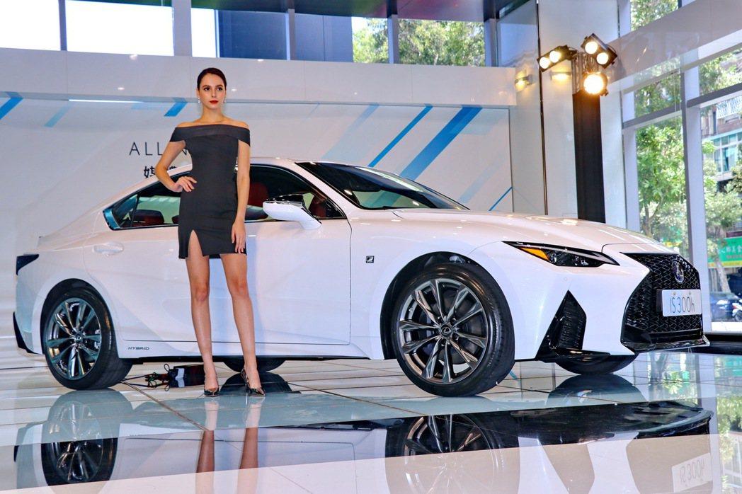 LEXUS總代理和泰汽車於10月16日正式展開2021年式IS預接訂單,提供IS...