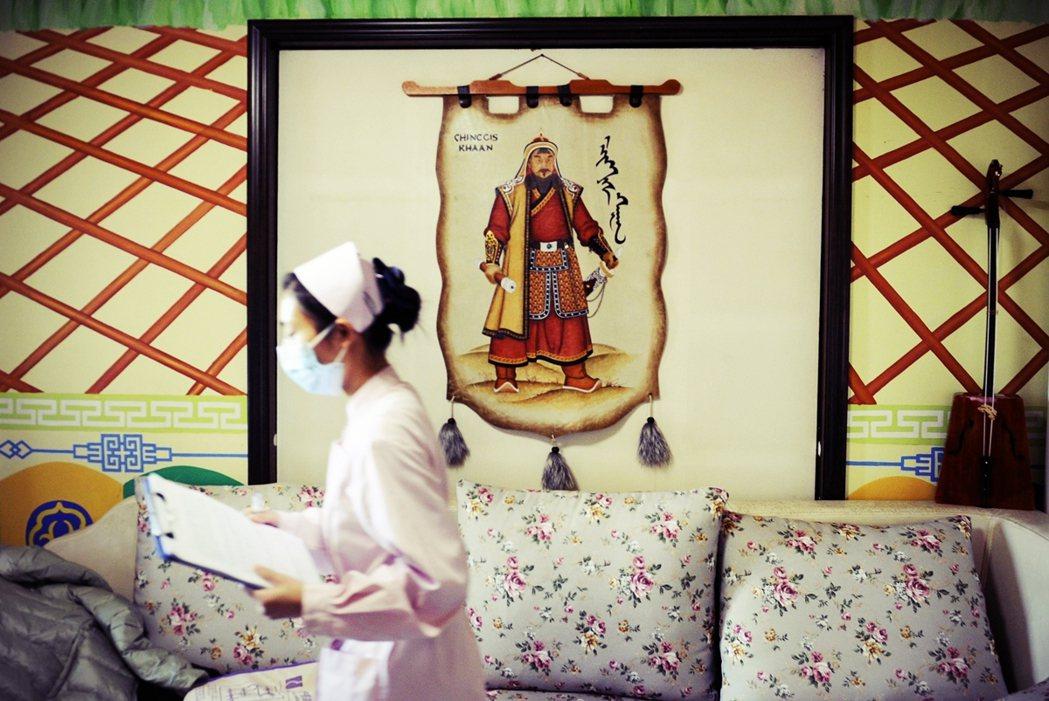 「这样存有偏差的蒙古文化重写,是为了符合(中国的)新国族叙事...」 图/法新社