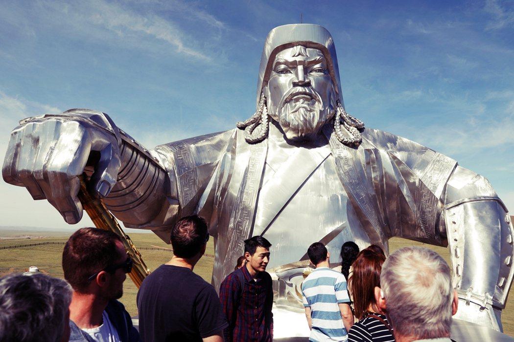 蒙古国首都乌兰巴托的成吉思汗纪念馆。 图/路透社