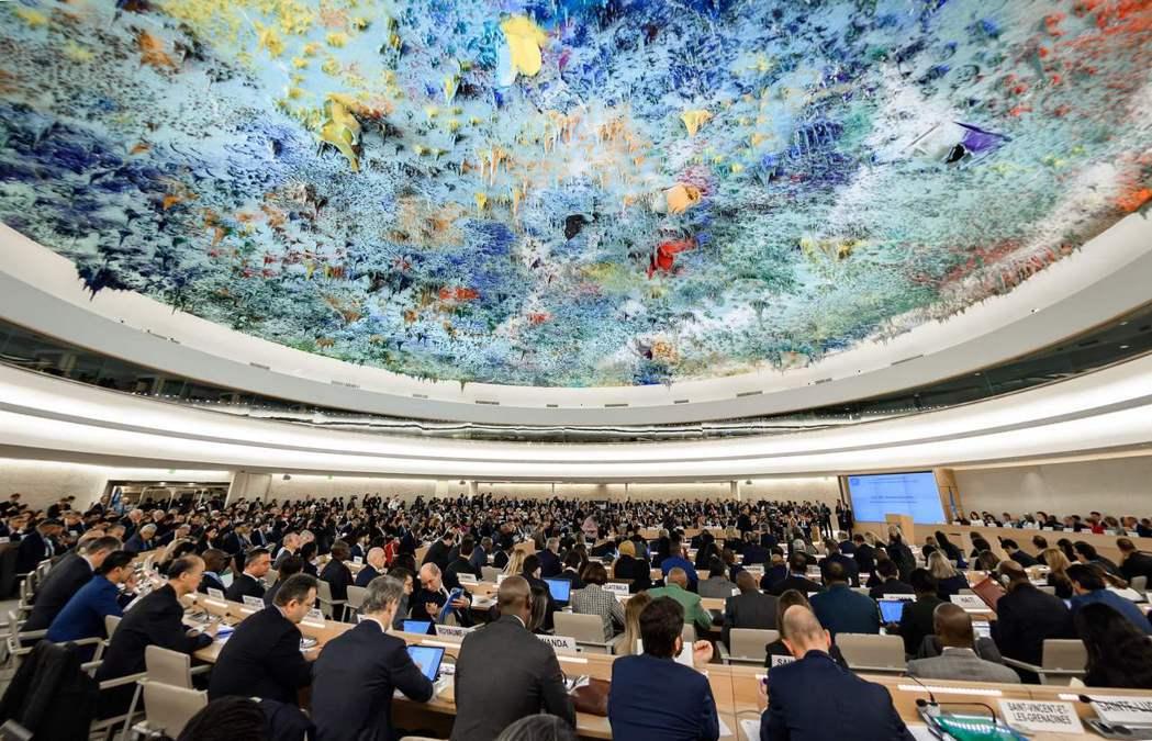 第46屆人權理事會常會於今年2月底在瑞士日內瓦召開。 圖/法新社