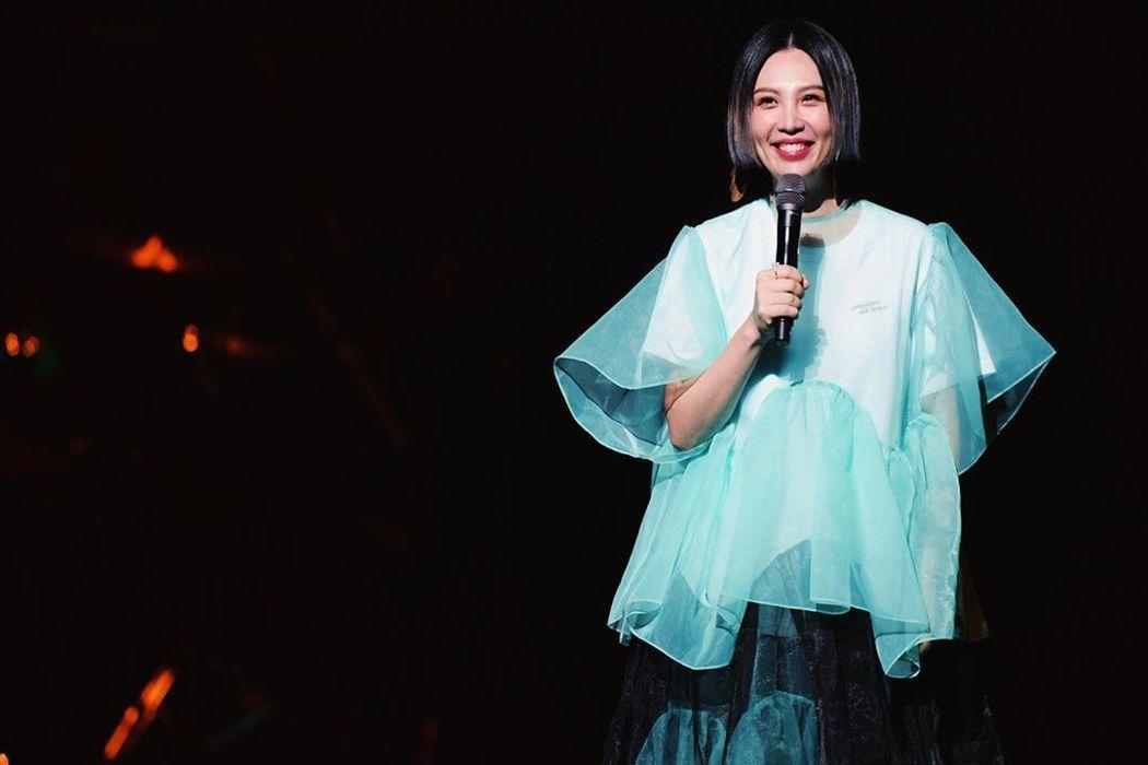 魏如萱是今年金曲獎歌后。圖/擷自魏如萱IG