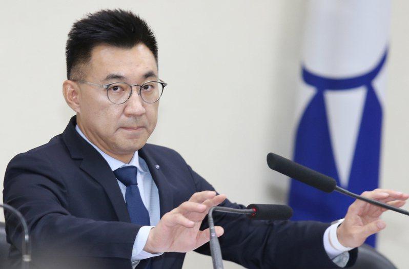 國民黨主席江啟臣。聯合報系資料照