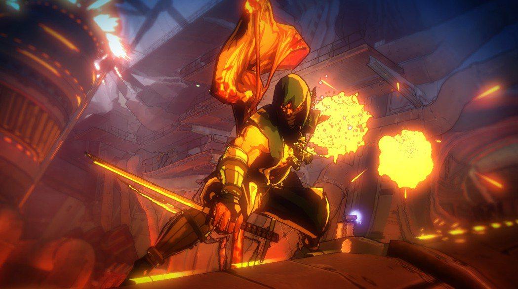 畫面充滿美式漫畫風的《YAIBA:忍者外傳Z》,是一款外傳性質的遊戲。龍隼在本作...