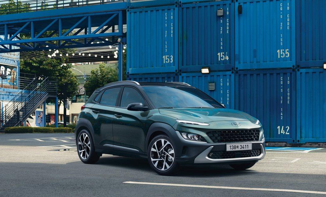 小改款Hyundai Kona車長增加了40mm。 摘自Hyundai