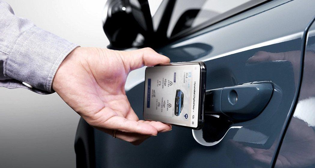 小改款Hyundai Kona也導入了Hyundai Digital Key智慧...