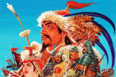 「成吉思汗」踩在了中國哪條的紅線上? 圖/蒼郎與白鹿;繪師:生賴範義