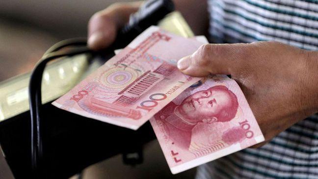 人民幣對美元匯率過去幾周來強勁升值,連大陸央行都要出手阻攔升勢。 路透