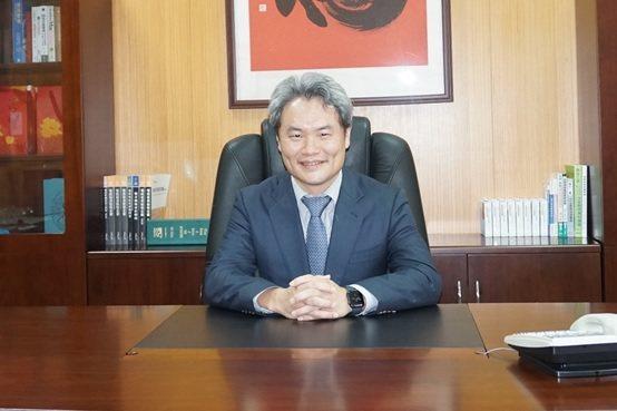 昶昕實業總經理陳彥亨博士。 楊連基/攝影