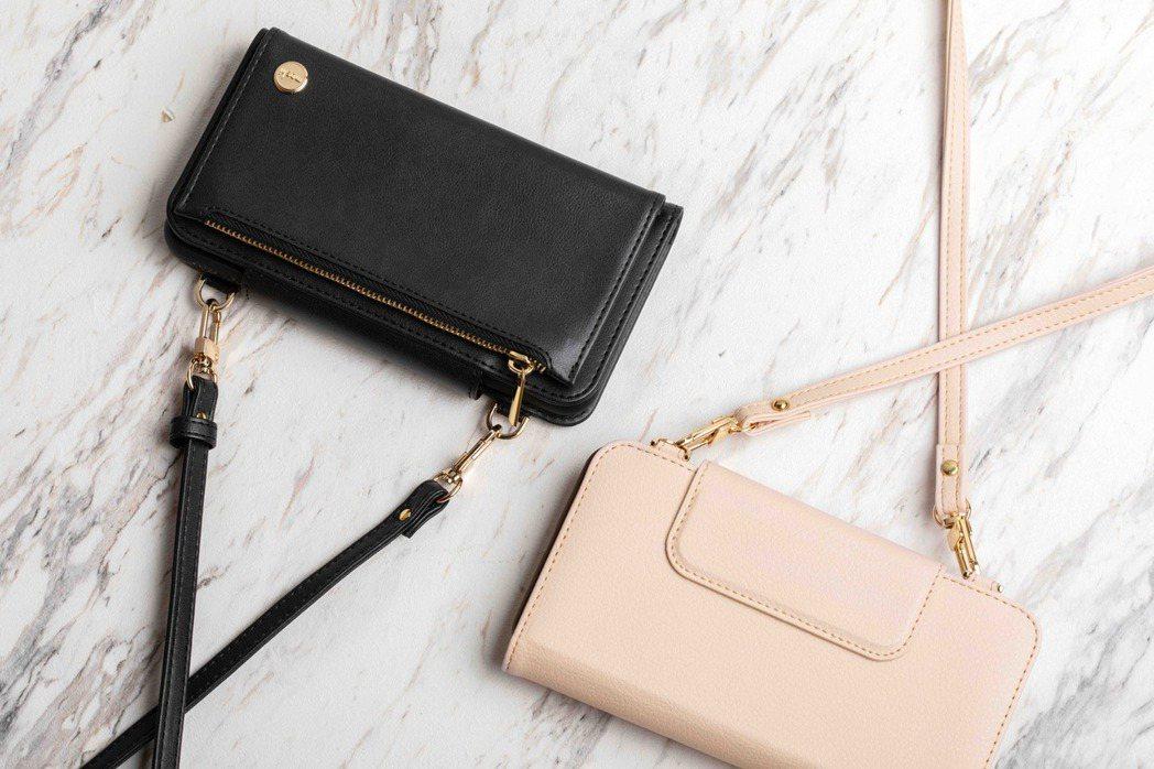 SnapTo Crossbody Wallet 磁吸式斜背三用手機包,讓保護殼能...