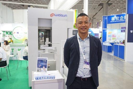 偉勝儀器工業總經理陳玟翰。 楊連基/攝影
