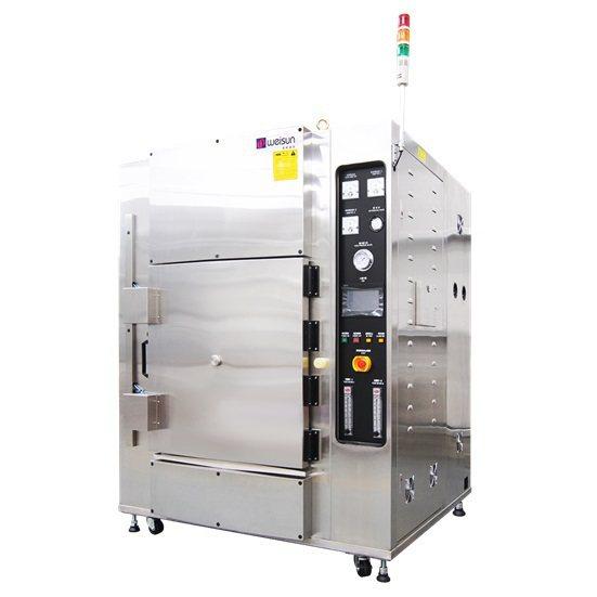 超高溫氫氧氣反應爐。 偉勝儀器工業/提供