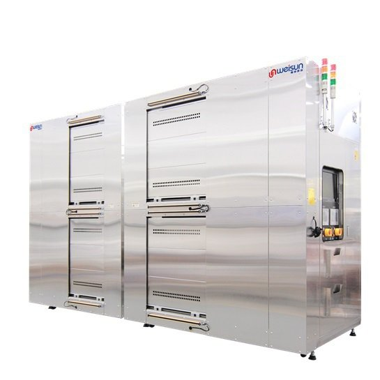 自動化自走車烤箱。 偉勝儀器工業/提供
