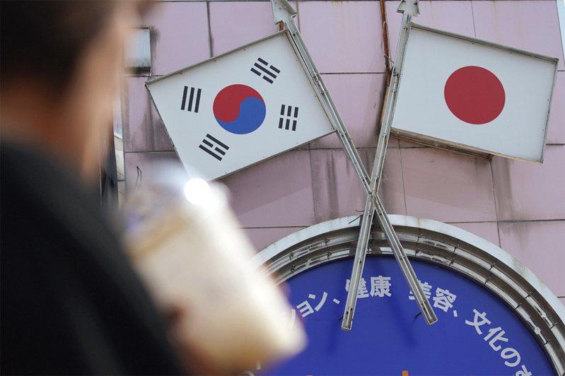 調查顯示,約7成韓國人對日本無好感。美聯社