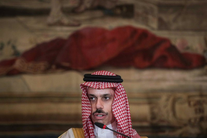 沙烏地阿拉伯外交部長費瑟。 歐新社