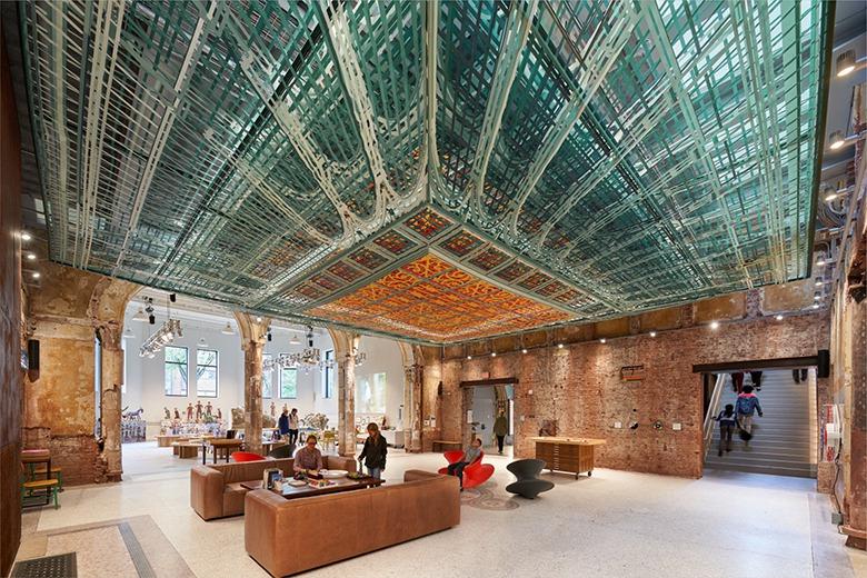 保留建築歷史痕跡 煥然重生博物館實驗室