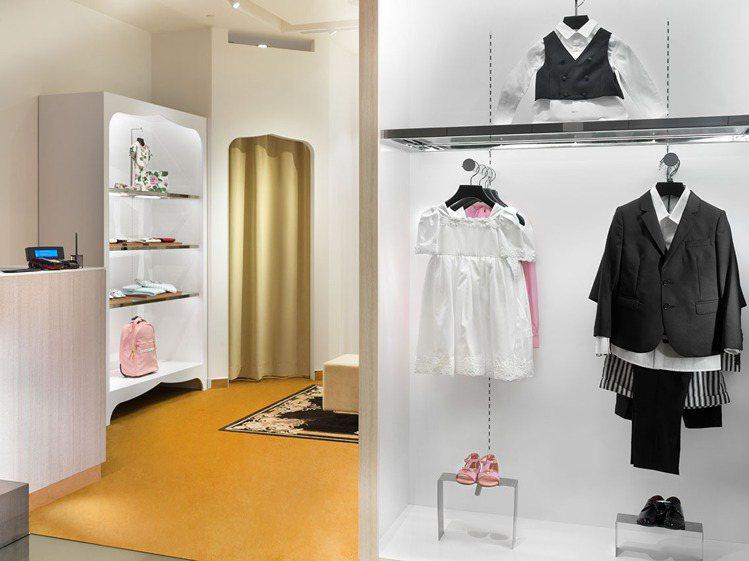 DOLCE & GABBANA童裝店。圖/微風精品提供