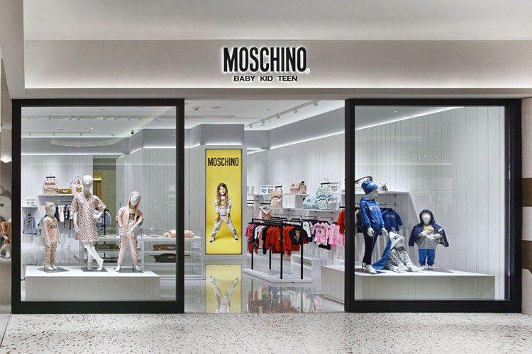 MOSCHINO童裝店。圖/微風精品提供