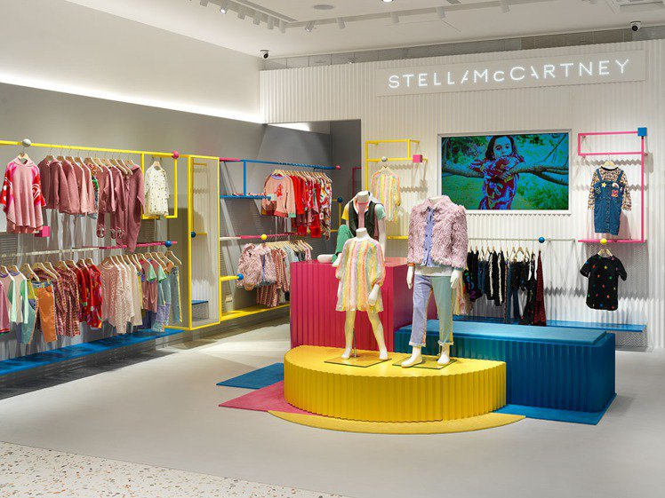 STELLA McCARTNEY童裝店。圖/微風精品提供