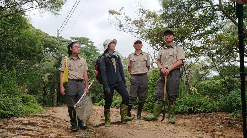 森林護管員負責山林保育及林班地維護。羅東林管處提供