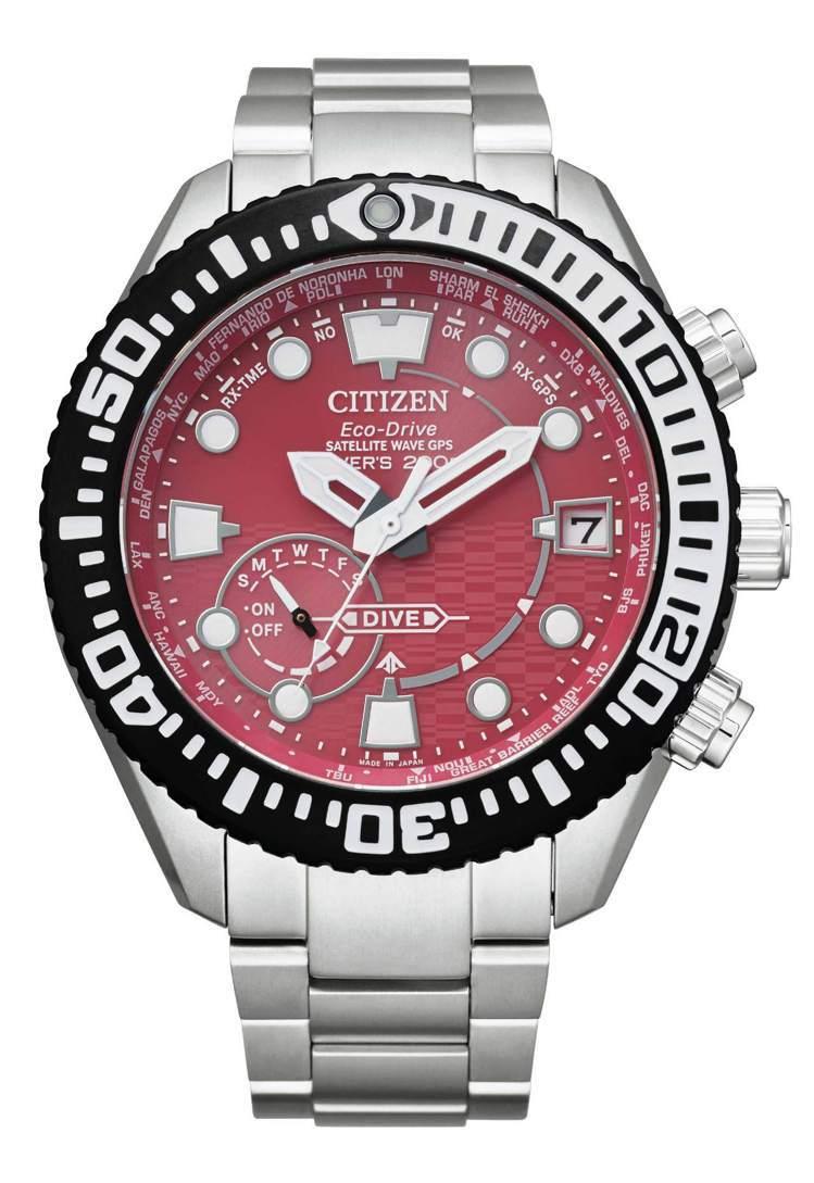 CITIZEN東京‧紅系列CC5005-68Z腕表,鈦金屬表殼、表鍊,全球限量8...