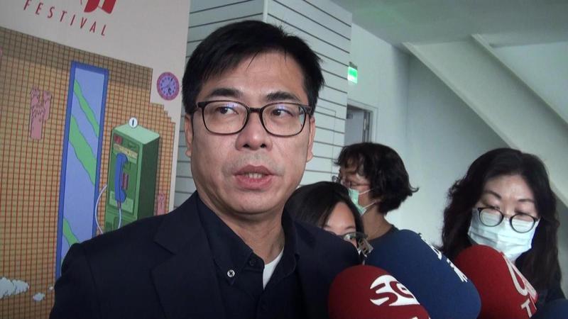 陳其邁表示,站在公衛立場,疫苗本來就是要高風險族群優先施打。記者王昭月/攝影