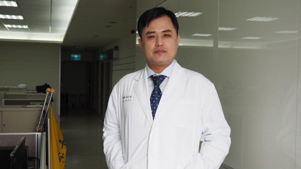 中國醫藥大學附設醫院脊椎中心脊椎側彎矯正科主任羅元舜 羅元舜/提供
