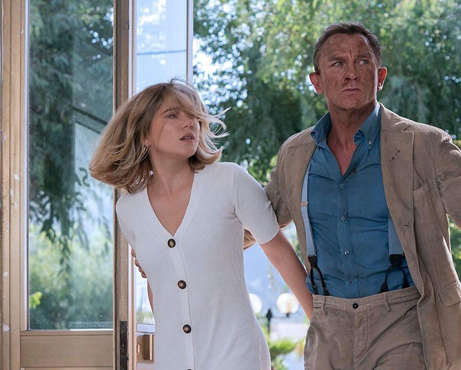 丹尼爾克雷格和蕾雅瑟杜在「007生死交戰」中仍有精彩對手戲。圖/摘自imdb