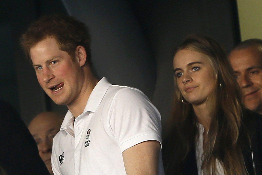 哈利王子曾與克萊希達波娜絲認真交往,曾被預期有機會結婚。圖/路透資料照片