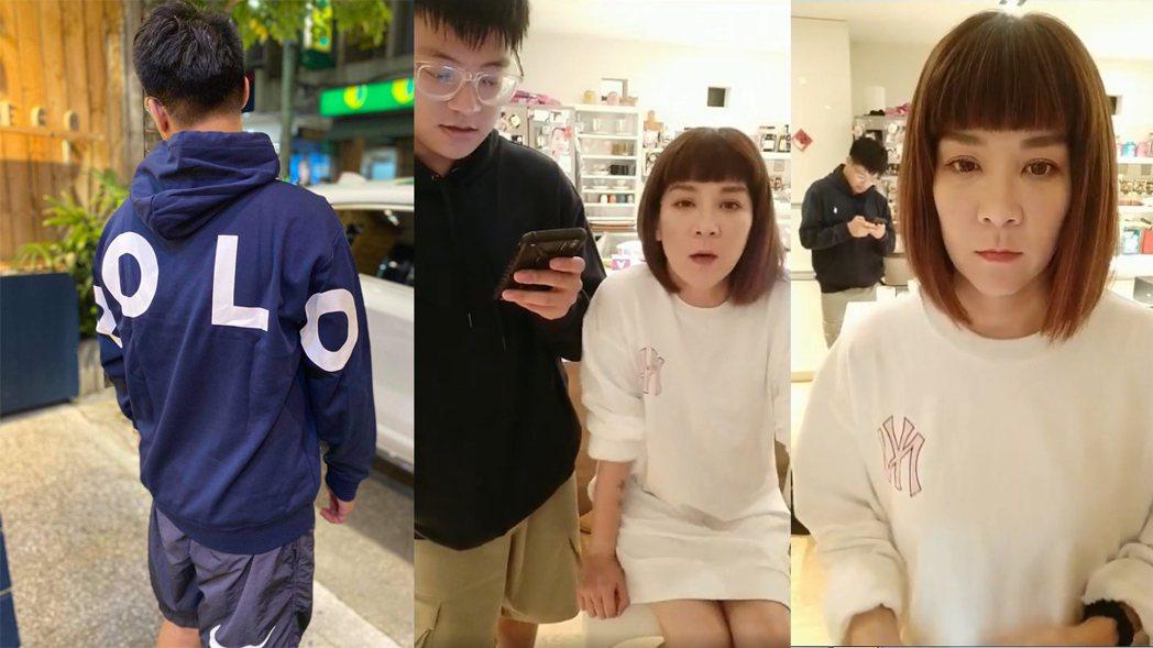 袁義臉書賣衣遭酸,媽媽陸元琪淡定回應。圖/擷自臉書