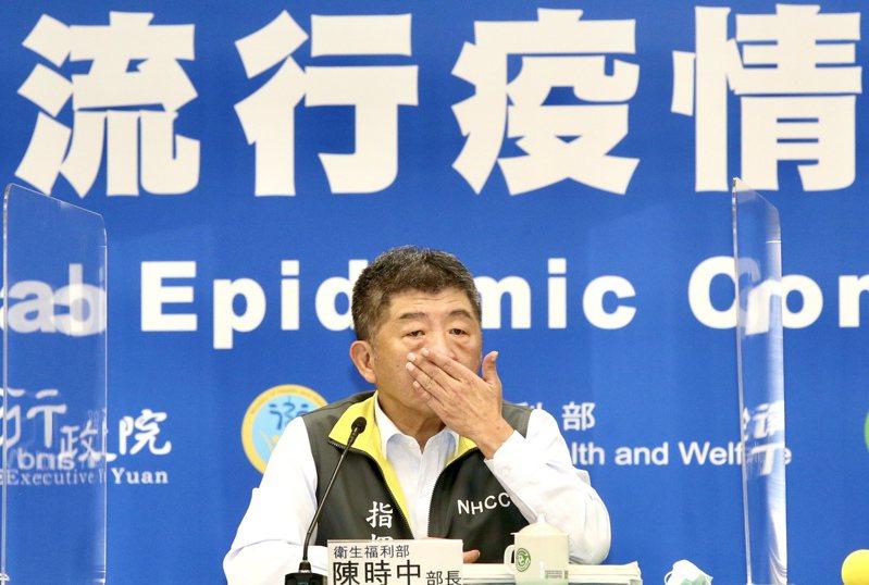 50至64歲緩打流感疫苗惹民怨,衛福部長陳時中親上火線道歉滅火。 記者林俊良/攝影