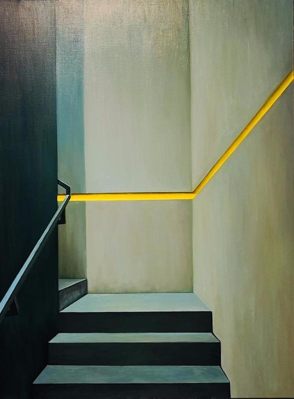 索卡藝術中心展出張英楠作品《無限》。 圖/2020 ART TAIPEI提供