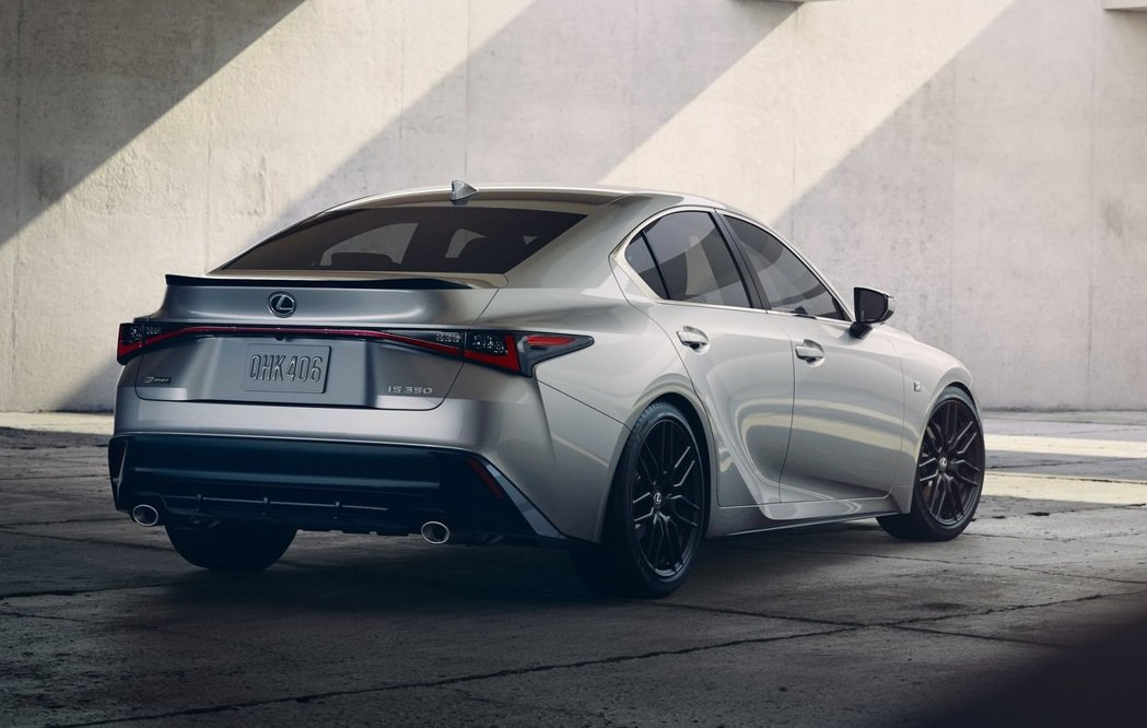2021 Lexus New IS。 摘自Lexus