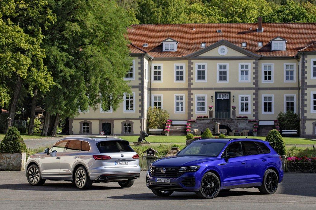 Volkswagen Touareg eHybrid、Volkswagen To...