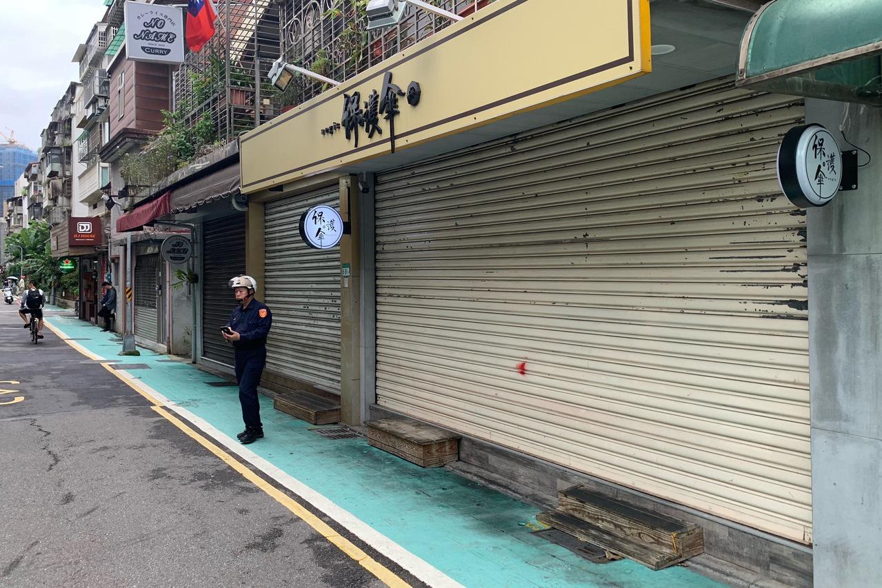 保護傘餐廳遭潑穢物損失嚴重 宣布停業一週