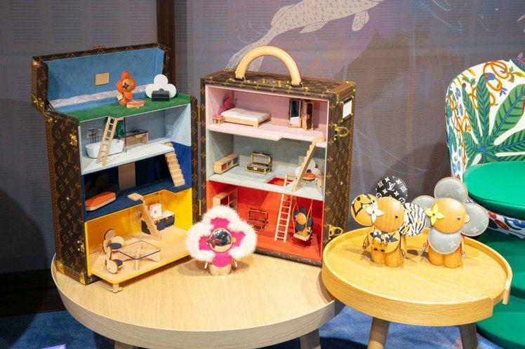 Vivienne娃娃屋是本屆備受矚目的新品,210萬元。圖/LV提供