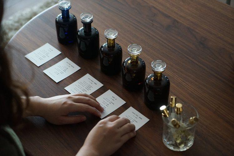 一同來品味Perfumer H工藝級訂製香水與蠟燭。圖/森/CASA提供