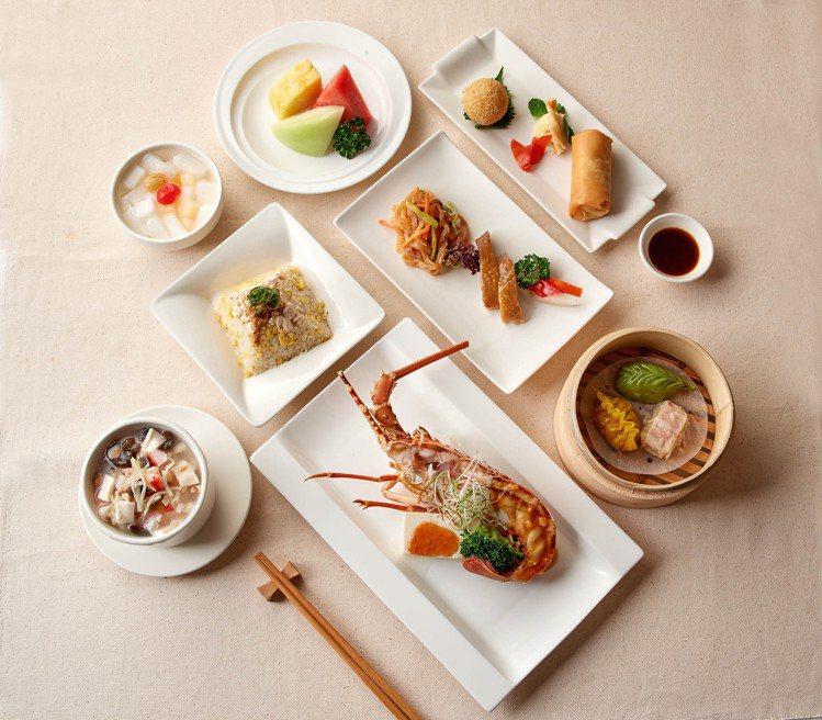 珍珠坊(2F廣東料理)龍蝦套餐799元。圖/台北福華大飯店提供