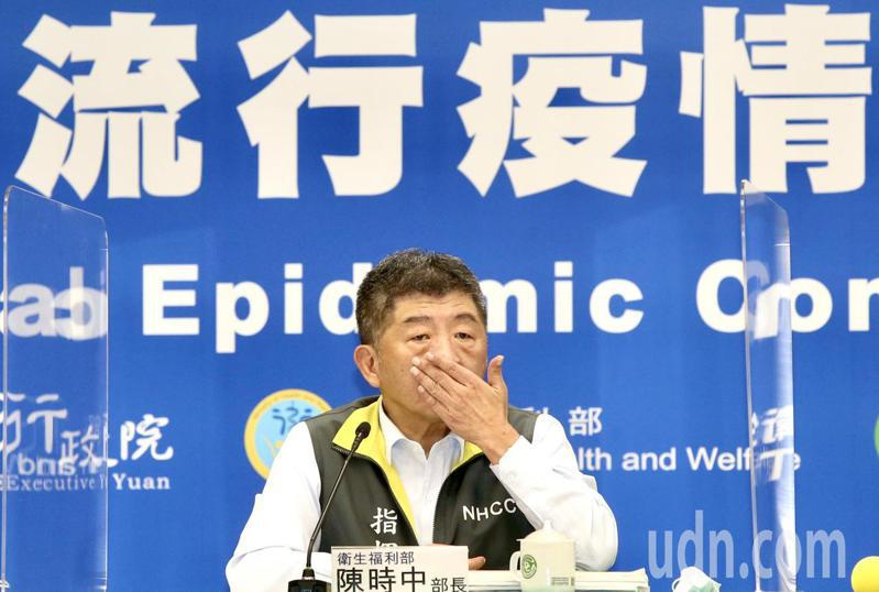 今年公費流感疫苗出現搶打潮惹民怨,衛福部長陳時中親上火線道歉滅火。記者林俊良/攝影