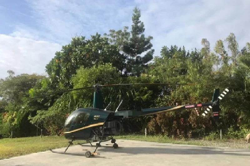 又見直升機偷飛 國巨前總裁交保