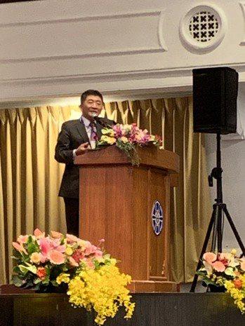 衛福部長陳時中今參與2020年公共衛生聯合年會。記者陳雨鑫/攝影