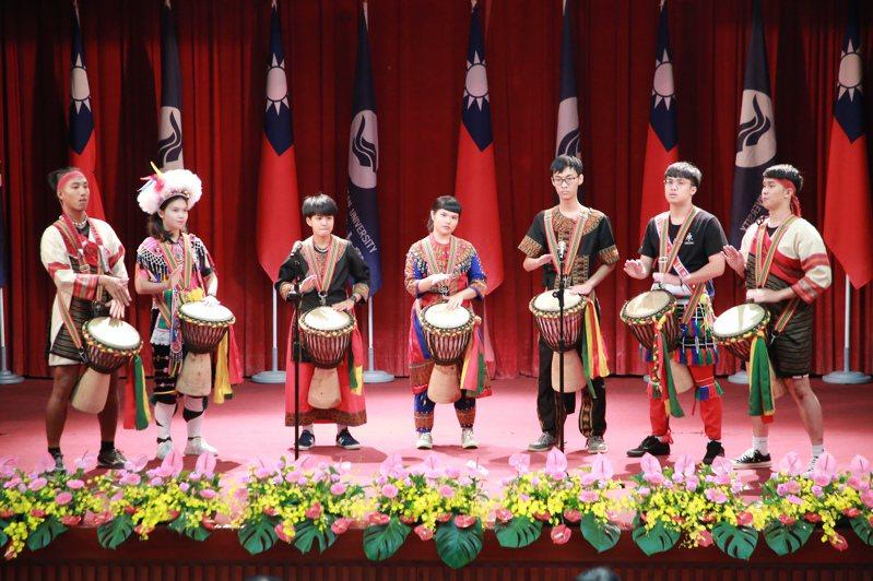 國立台灣海洋大學今天舉行67周年校慶慶祝大會。圖/基隆市政府提供