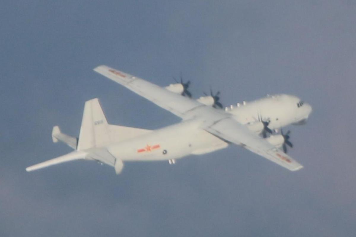 共機48小時密集擾台3次 國防部:全程掌握 飛彈追監