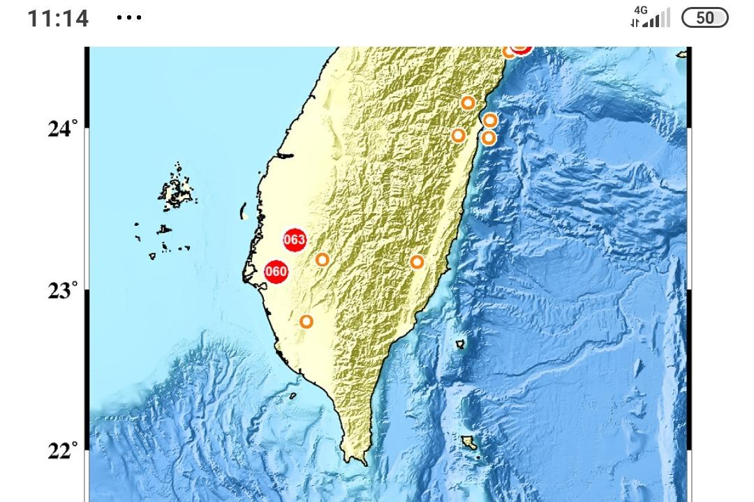 晚上3小時連震3次 台南東山居民嚇破膽