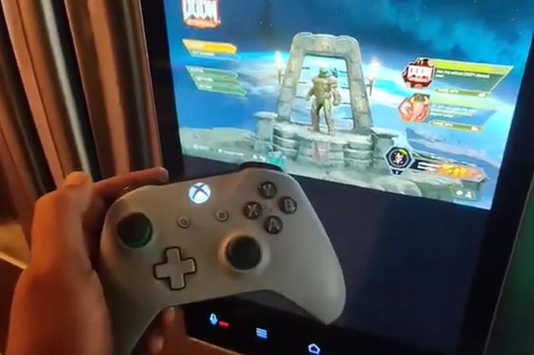 用Xbox手把在智慧冰箱上的螢幕玩《毀滅戰士》?有玩家辦到了!