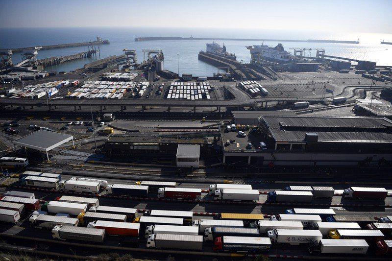 據日媒報導,日本政府有意協助英國加入CPTPP。圖為英國多佛港。 圖/歐新社